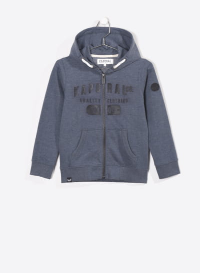 Sweat zippe capuche